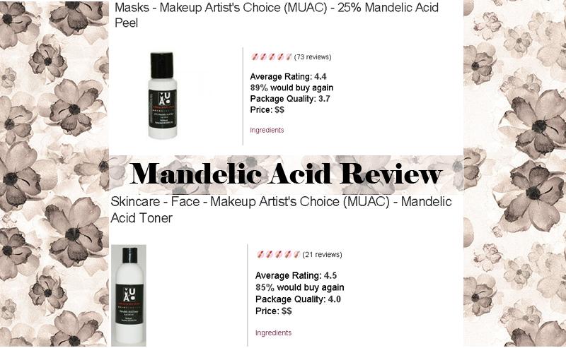 Mandelic Acid Toner Makeup Artist Choice Dianasadventures