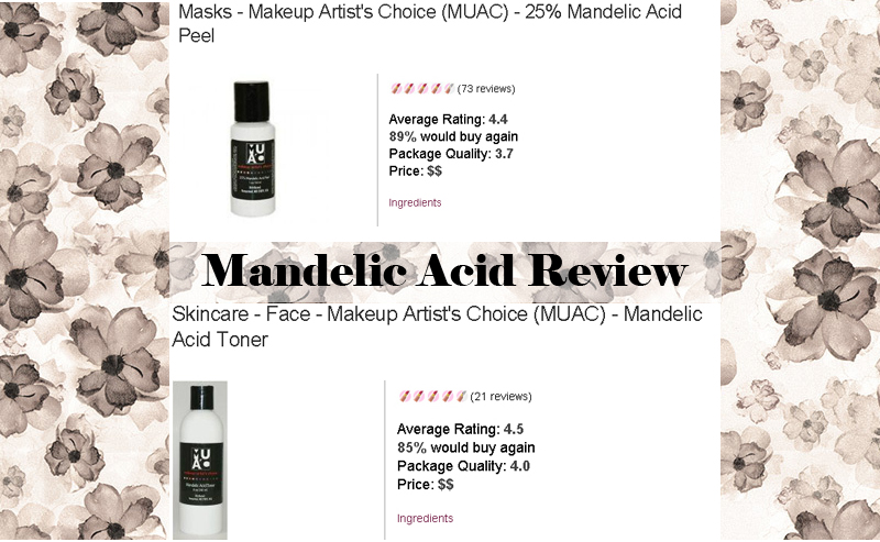 Mandelic acid Review