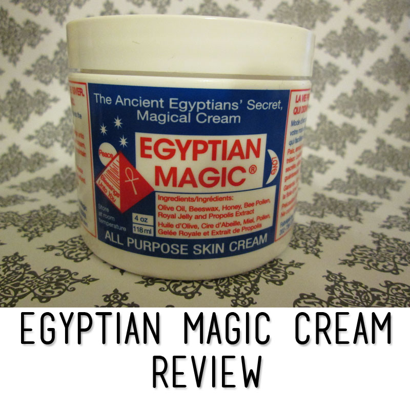 I live, sleep, eat Egyptian Magic cream ... - YouTube