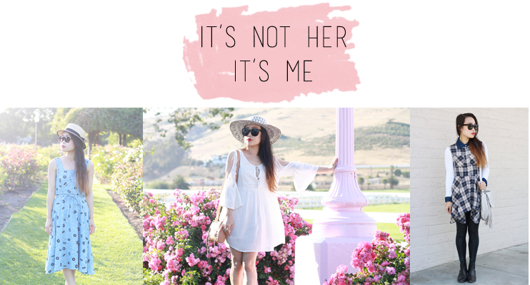 its not her its me