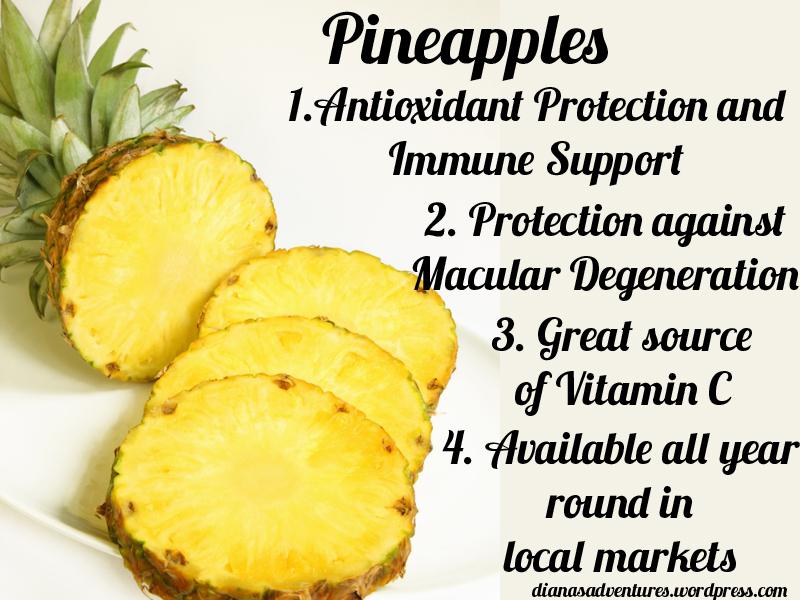 pineapples yum