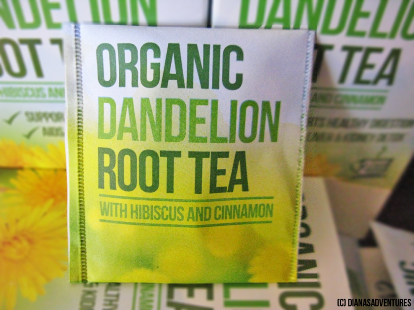 Organic Dandelion Root Tea - With Hibiscus & Cinnamon